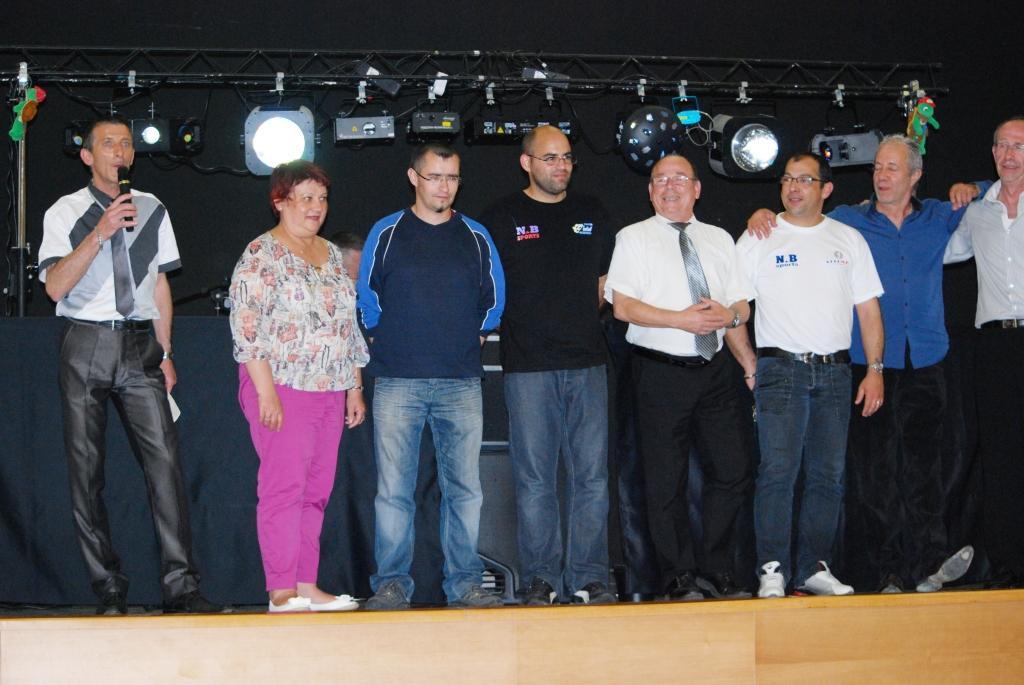 Les membres de la SD 16 qui ont organisé la journée
