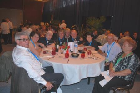 Jean-Marie lors du diner de gala (Congrès Châtelaillon)