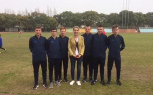 Les 6 arbites français présents à la 6ème coupe d'Asie des lycées français de la Zone Asie Pacifique